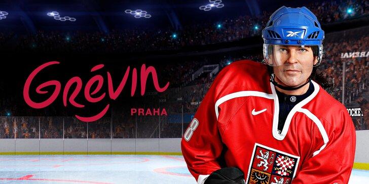 20 let od triumfu: vstup do muzea Grévin s výstavou Zlaté časy českého hokeje