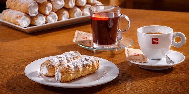 Mlsání na Kampě: kremrole se svařeným vínem, kávou nebo čajem pro dva