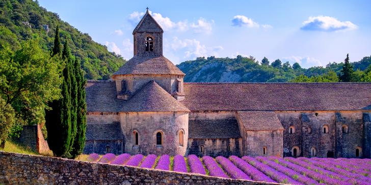 Levandulová Provence, středověký Avignon, Marseille a ostrov If včetně ubytování
