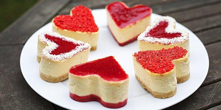Srdcová záležitost: 6 výtečných minicheesecaků z poctivých surovin