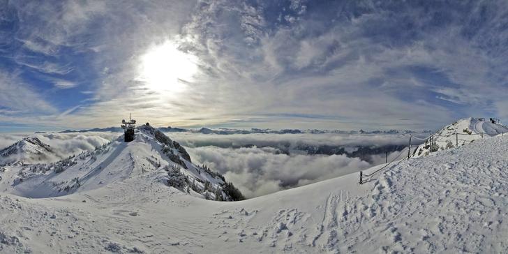 Jednodenní lyžování ve středisku Hochkar: nejvyšším vrcholu Göstlingských Alp