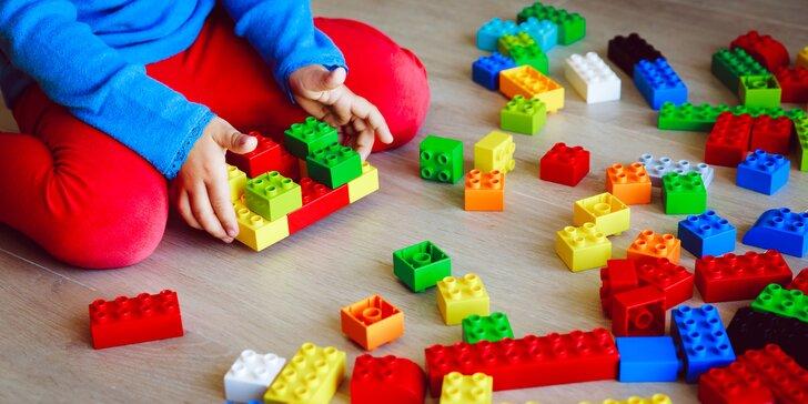 1,5 hodiny napínavé hry s využitím stavebnice LEGO® pro děti od 5 do 9 let