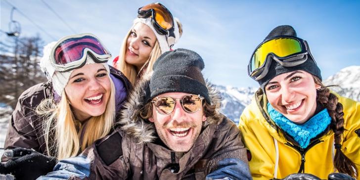 Jednodenní lyžování v rakouském středisku Hinterstoder, jen 2 hodiny od hranic
