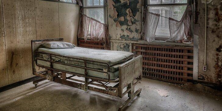 Únikovka pro odvážné: Dostaňte se ven z opuštěné psychiatrické léčebny