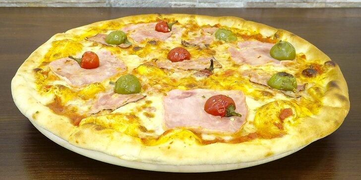 Vršovické kolo štěstí: 1 nebo 2 křupavé pizzy dle výběru na místě i s sebou