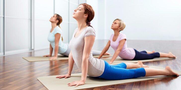 Protáhněte tělo: jednotlivé vstupy na jógu nebo neomezené měsíční členství