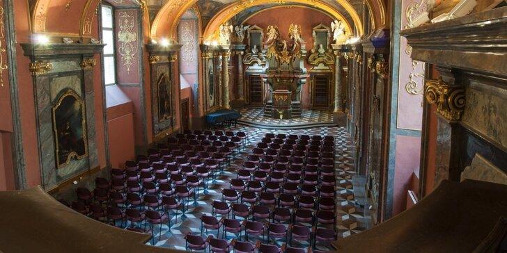 Jedinečná únorová nabídka podvečerních koncertů v Zrcadlové kapli Klementina