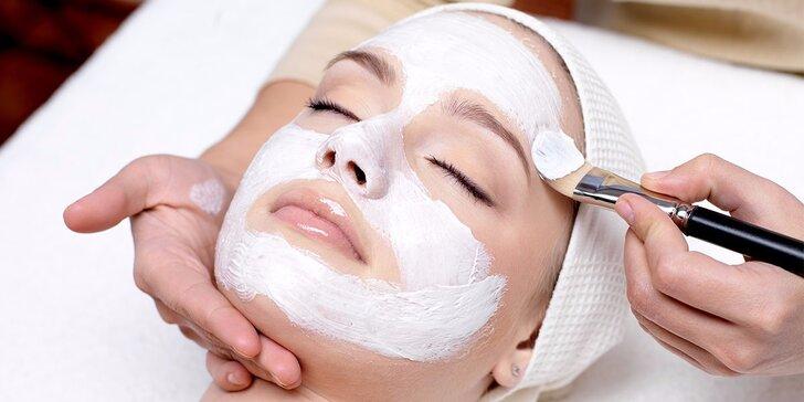 Antistresové kosmetické ošetření pro všechny typy pleti vč. barvení řas