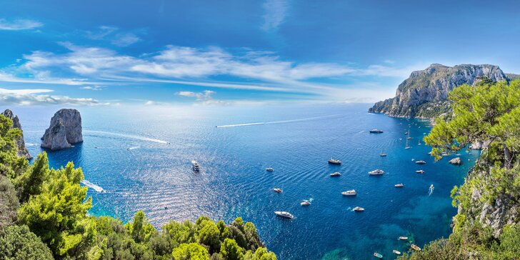 Květnový zájezd do Itálie na 3 noci: Capri, Sorrento, Neapol, Pompeje, Vesuv, Řím