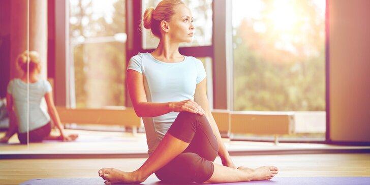 Dvě lekce jógy, pilates či meditace ve studiu YOGAPLANET
