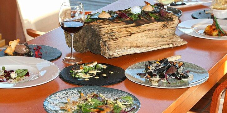 Luxus na talíři: 11 chodů sestavených šéfkuchařem s praxí z michelinské restaurace
