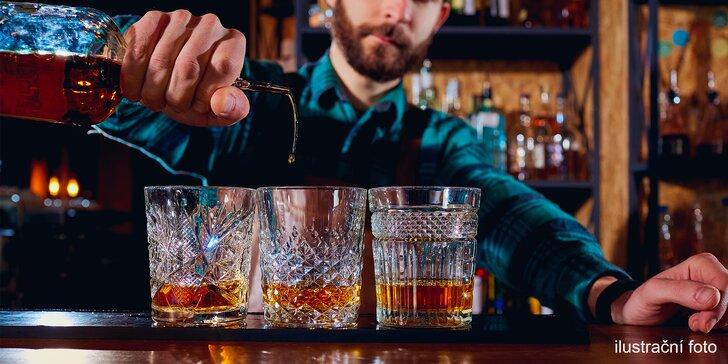Degustace 5 exkluzivních rumů pro jednu nebo dvě osoby