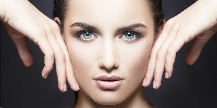 Výběr ze dvou luxusních balíčků na kosmetické ošetření pleti