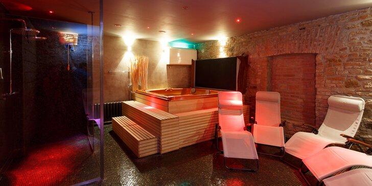 Dokonalý odpolední odpočinek pro 2 až 4 blízké: 1,5 hod. privátní sauny a vířivky