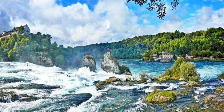Hornorýnské pomezí s jedním noclehem: Štrasburk, Basilej, Rýnské vodopády
