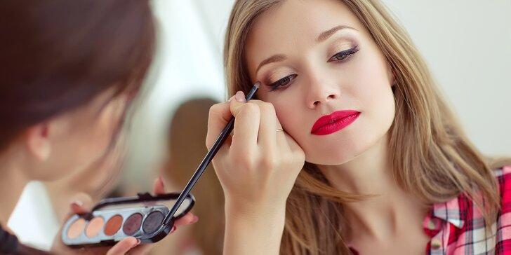 Wellness víkend pro ženy s kurzem líčení a fotoproměnou