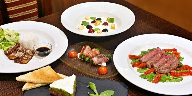 Pochutnejte si v přítomnosti hvězd: 5chodové degustační menu v Celebrity Café