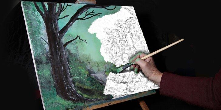 Večerní kurzy kresby a malby pro dospělé začátečníky a mírně pokročilé