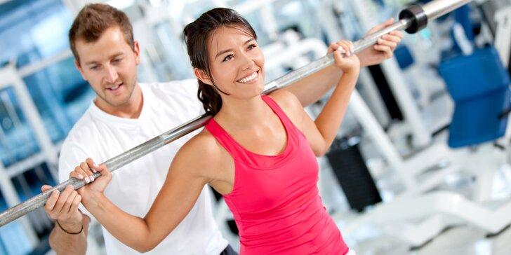 Cvičte správně: 10 individuálních hodinových lekcí s osobním trenérem