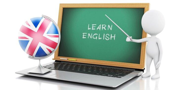 Online kurzy angličtiny s podporou osobního lektora na 6 nebo 12 měsíců