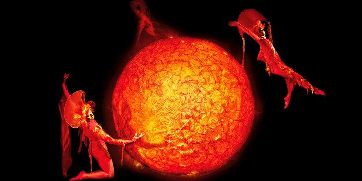 Magická tma: vstupenky na představení černého Divadla Image
