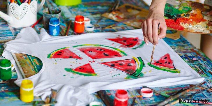 Obchod a dílnička pro šikovné ruce: namalujte si s dětmi hrníček či tričko