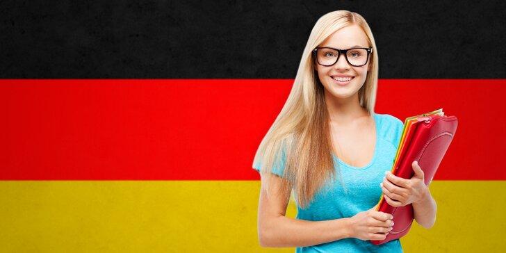 VIP kurz němčiny pro falešné začátečníky: 20 lekcí pro max. 5 studentů