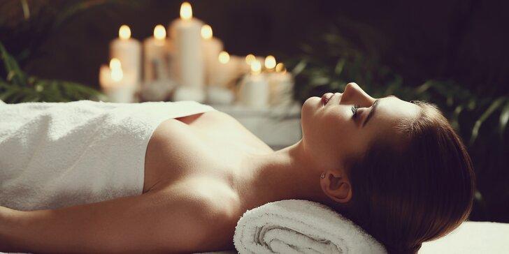 Luxusní balíček pro ženy: relaxace s thajskou masáží
