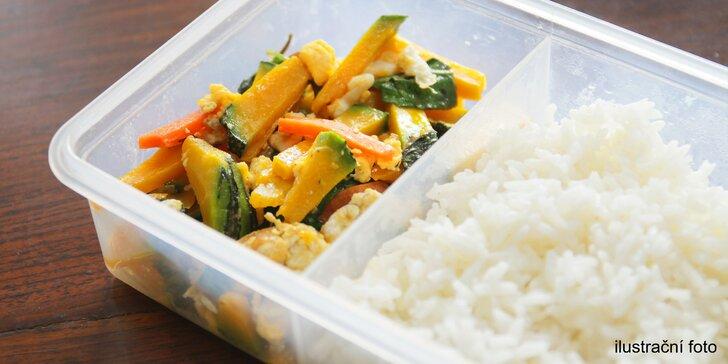 Oběd až domů nebo do kanceláře: kredit na rozvoz jídel v hodnotě 300 či 500 Kč