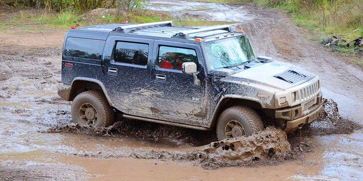 Řízení offroadu Hummer H2 Luxury, bungee running a další adrenalinové zážitky