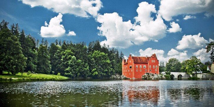 Dovolená v apartmánech pro pár či rodinu u Červené Lhoty v jižních Čechách