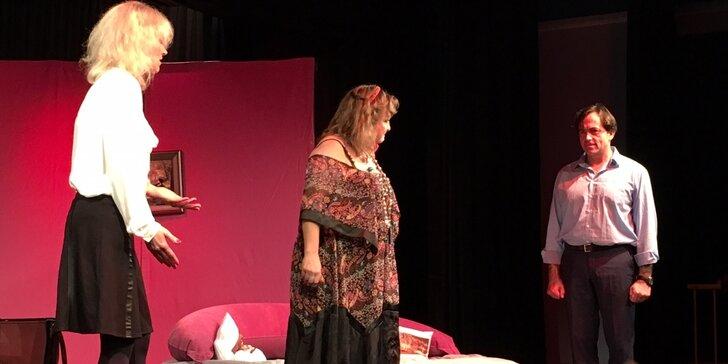 Vstup na divadelní představení Křížem krážem aneb sexem ke štěstí