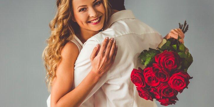 Překvapení, které vykouzlí úsměv na rtech: 9, 25, 49 či 99 růží