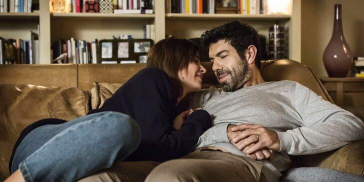 2 lístky na romantickou komedii Manželka a manžel v kině Lucerna