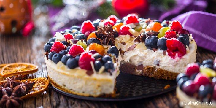 Sladké mámení: poctivý domácí cheesecake dle výběru o průměru 25 cm