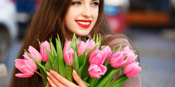 Potěšte květinou: kytice tulipánů z lásky nebo jen tak pro radost - 15 či 30 ks