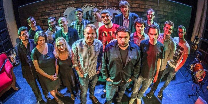 Underground comedy se členy Comedy clubu: přijďte se potrhat smíchy