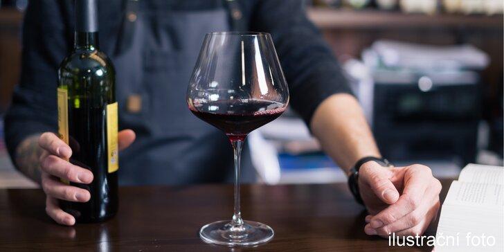 Vychutnávejte plnými doušky: degustace vína, párování i zážitkový someliérský kurz