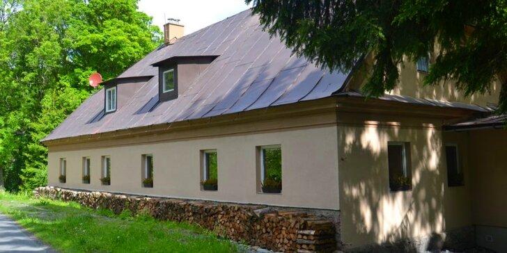 S rodinou do Jeseníků: chata, polopenze, sauna a 2 děti do 14,9 let zdarma