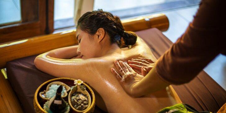 90minutové hýčkání: Thajské masáže v Salonu Elite vč. aroma lázně