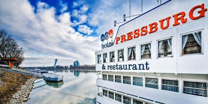 Užijte si romantický pobyt originálně: v bratislavském hotelu na lodi