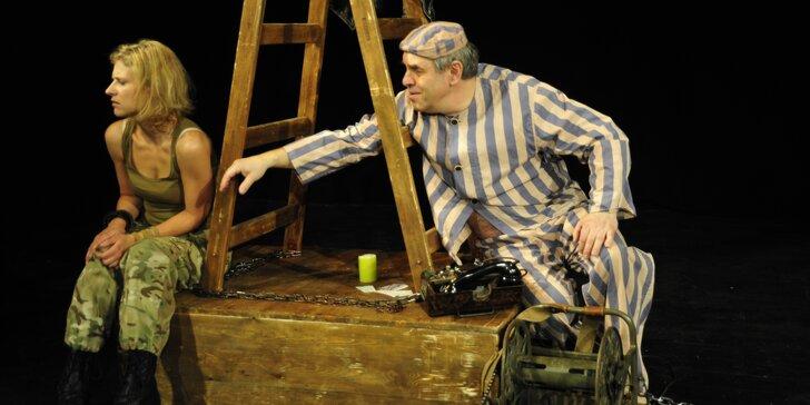 Vstupenka na divadelní představení A na hrušce sedí diktátor