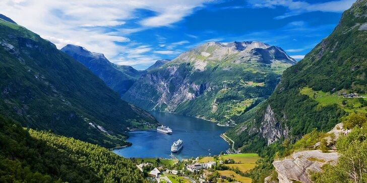 To nejlepší z Norska včetně Oslo: zájezd s dopravou, ubytováním a snídaněmi