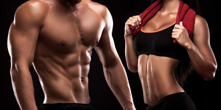 3x lekce s trenérem ve fitness včetně tréninkového a stravovacího plánu