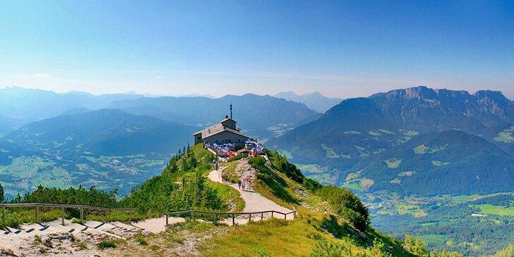 Výlet na Orlí hnízdo, k jezeru Königssee a do solného dolu Berchtesgaden