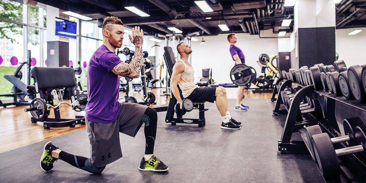 Svaly samy nevyrostou: Pořiďte si měsíční VIP vstup do fitness vč. solária