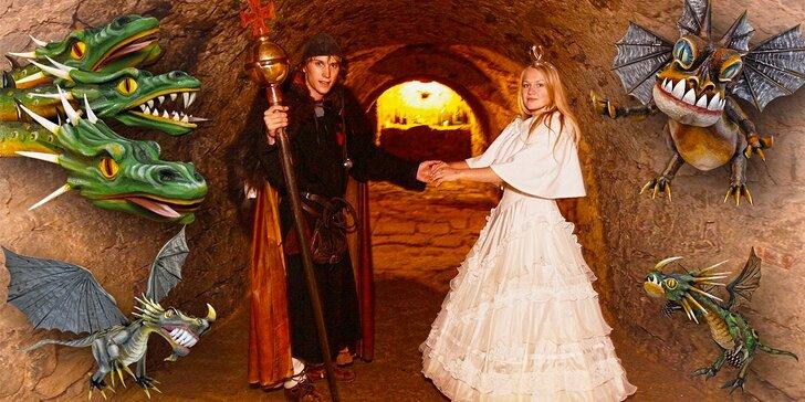Do pohádky: zábavná prohlídka kouzelného sklepení na Starých Hradech