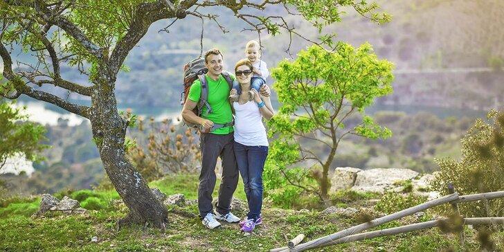 Pobyt ve stylové roubence pro rodinu i partu: únor–květen, lyžování i turistika