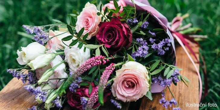 Překvapte svou lásku kyticí: Velikost i kombinaci květin vyberte sami