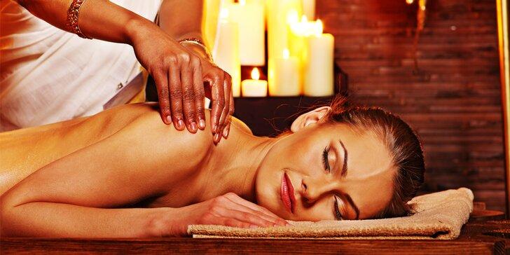 Vaše hodina dokonalé relaxace: exotická masáž dle výběru